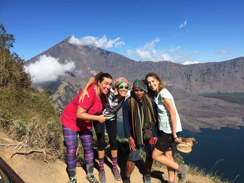 Mount Rinjani Trekking for Beginners – Rim Senaru 2 Days