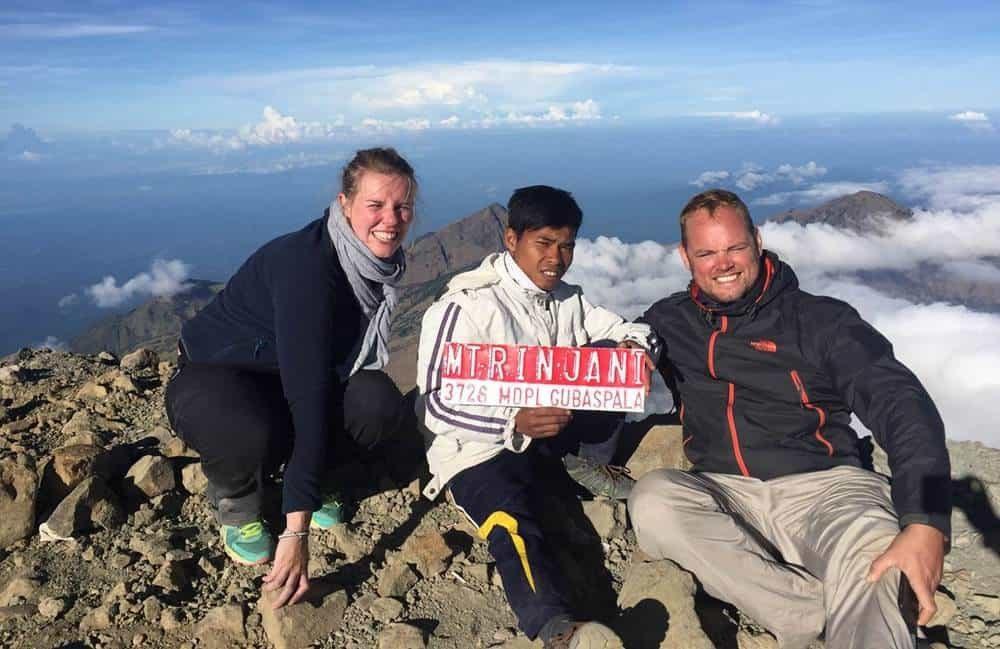 Trekking Summit Rinjani – Lake 3 Days