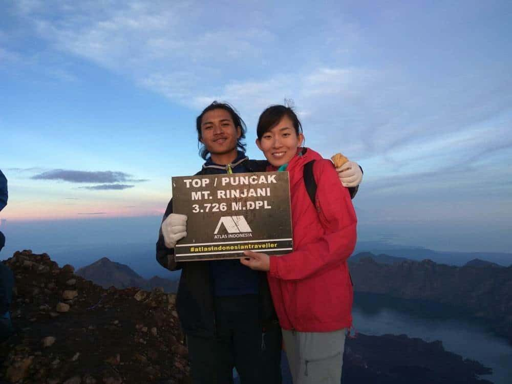 On Top Rinjani