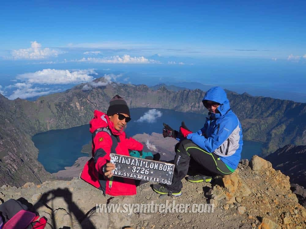 On Summit Rinjani
