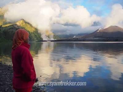 3 days senaru lake trek